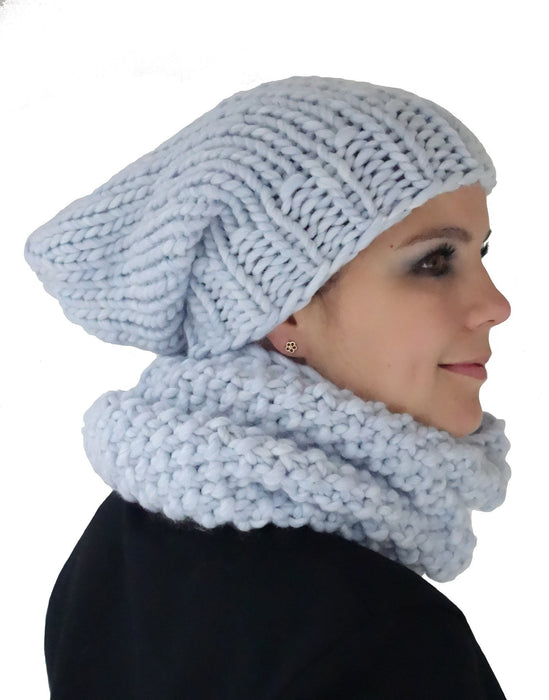 Hot Snood in Blueberry Crush