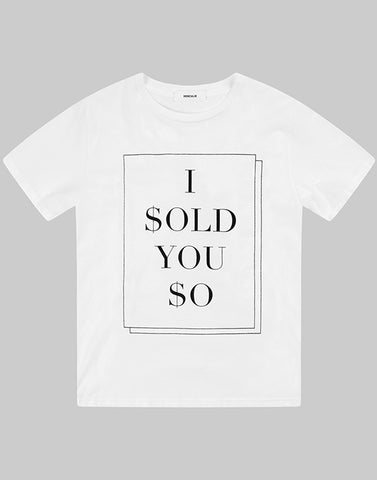 HERCULIE | Sold You So T-shirt