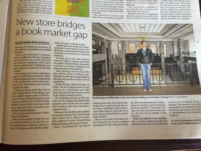 Check out Bridge Books in the Mail & Guardian