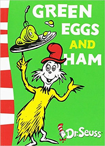 Green Eggs and Ham<br>by Dr. Seuss
