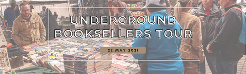 Underground Booksellers walking tour: 22 May