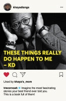 These things really do happen to me  <br>  Khaya Dlanga