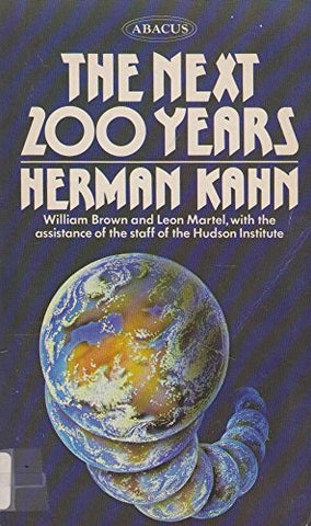 The next 200 years, by Herman Kahn