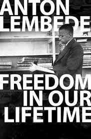 Freedom In Our Lifetime (Maboneng) <br> by Anton Lembede
