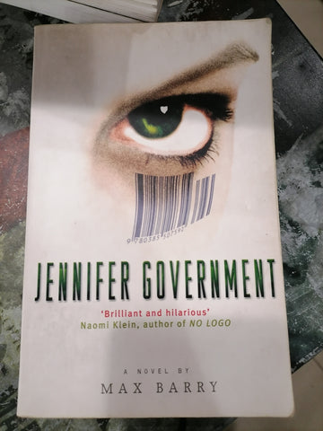 Jennifer Government, by Max Barry (Used)