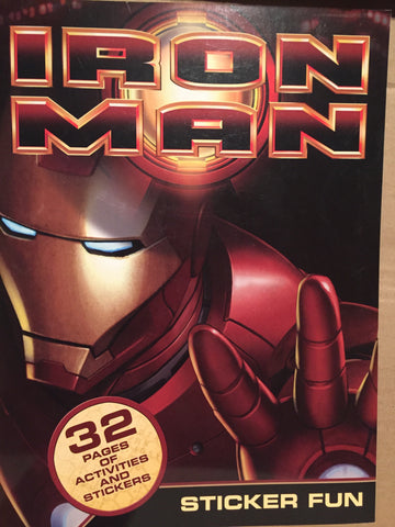 Iron Man Sticker Fun