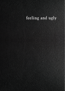 Feeling and Ugly Danai Mupotsa poetry South Africa Zimbabwe Impepho Press