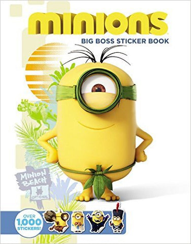 Minions: Big Boss Sticker Book