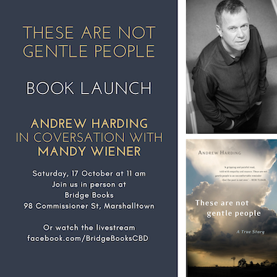 Launch of These Are Not Gentle People