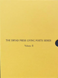 THE DRYAD PRESS LIVING POETS SERIES – VOLUME II