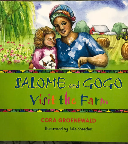 Salome and Gogo visit the farm <br> Cora Groenewald