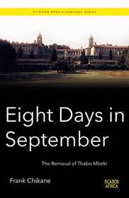 Eight Days In September Frank Chikane