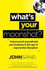 What's Your Moonshot? <br> by John Sanei
