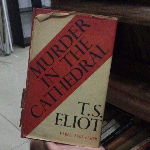 Murder in the Cathedral, by TS Eliot (Used)