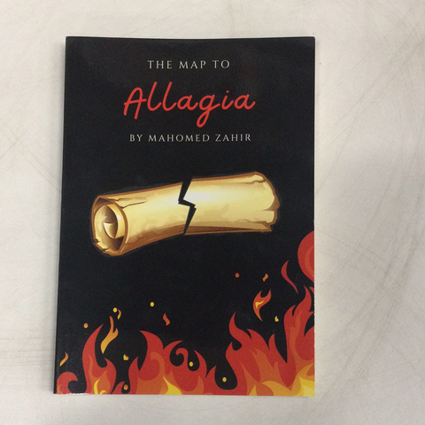 The Map To Allagia, by Mahomed Zahir