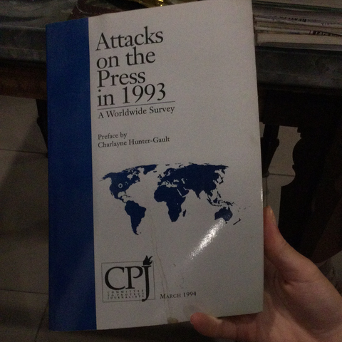 Attacks on the press in 1993 (used)
