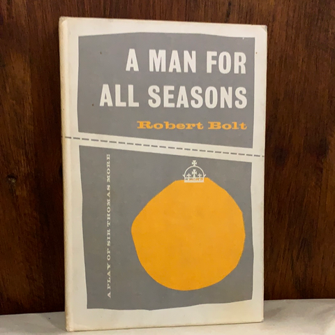A Man for All Seasons: A Play in Two Acts, by Robert Bolt (used, hardcover)