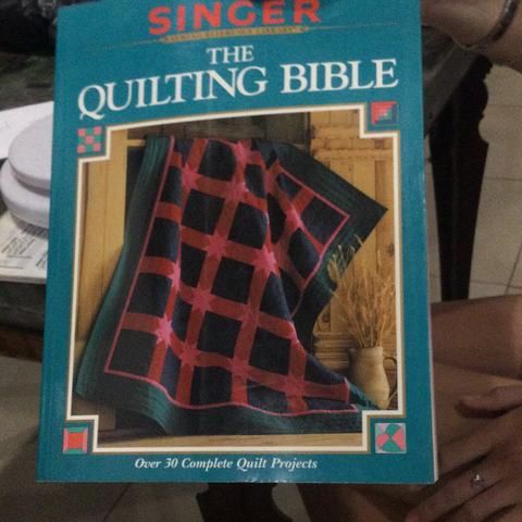 The quilting bible (used)