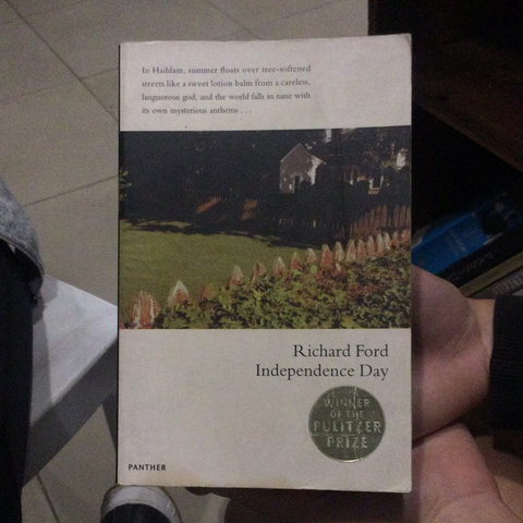 Independence day, by Richard Ford (used)