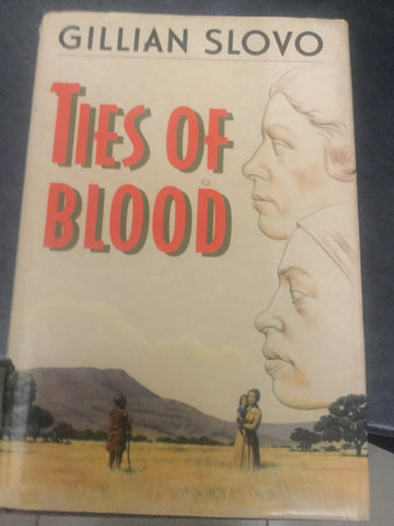 Ties of Blood (hardcover, used), by Gillian Slovo