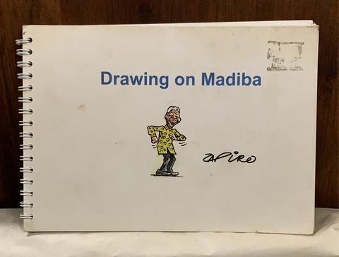 Drawing on Madiba: A book of postcards, by Zapiro (collectible)