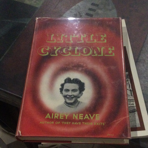 Little cyclone, by Airey Neave (used, hardcover)