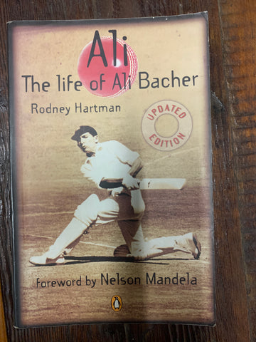 Ali: The life of Ali Bacher (used), by Rodney Hartman