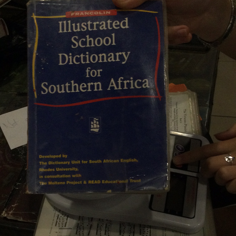 Illustrated school dictionary for southern Africa (used)