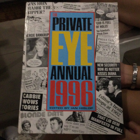 The private eye annual 1996 (used, hardcover)