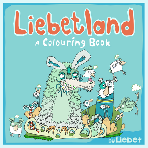 Liebetland: A Colouring Book