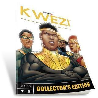 Kwezi: Issues 7-9 Collector's Edition (English)