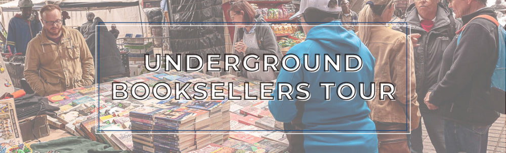 Join one of our Underground Bookseller Walking tours