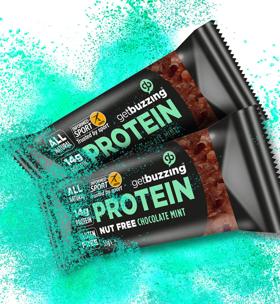 Mint Chocolate Nut Free High Protein Oat Bar 3 pack