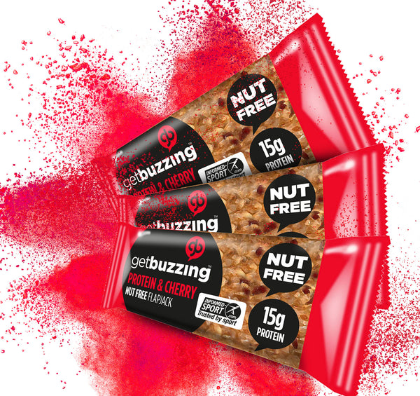 Cherry Nut Free High Protein Oat Bar 3 pack