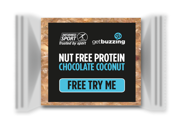 Free Chocolate Coconut High Protein Bite Bar