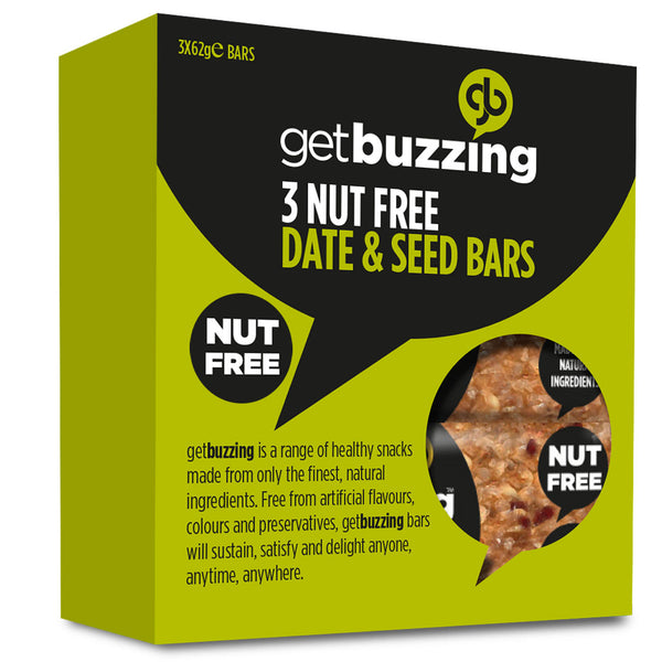 Date & Seed Nut Free Oat Bar 3 pack