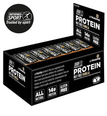 Vanilla & Seed High Protein Flapjacks 12 Pack