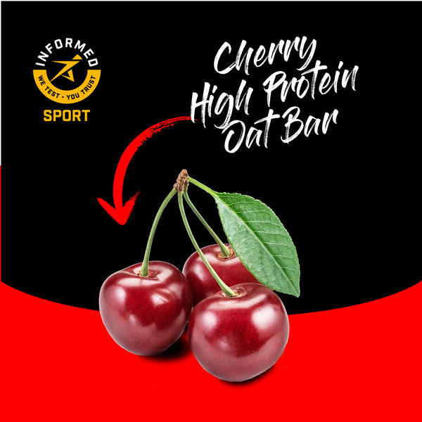 Cherry Nut Free High Protein Oat Bar 12 pack