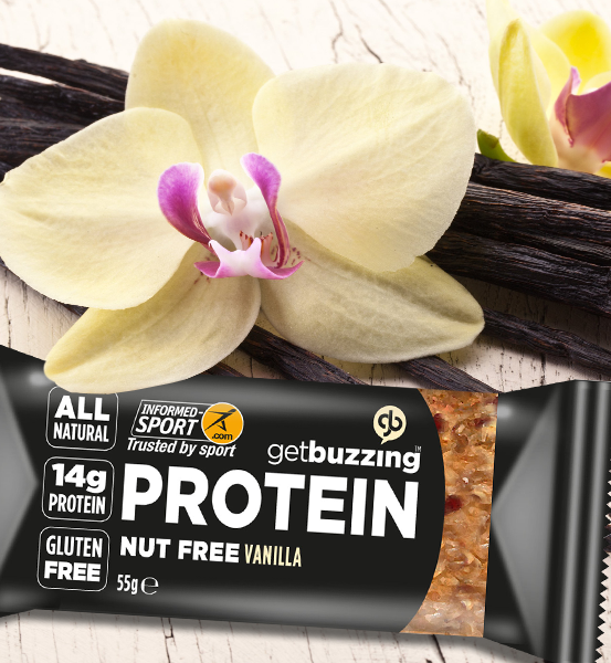 Vanilla & Seed High Protein Oat Bar 12 Pack