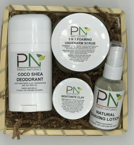 NATURAL DEODORANT TRANSITIONING KIT