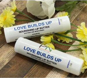 Love Builds up Lip Butters