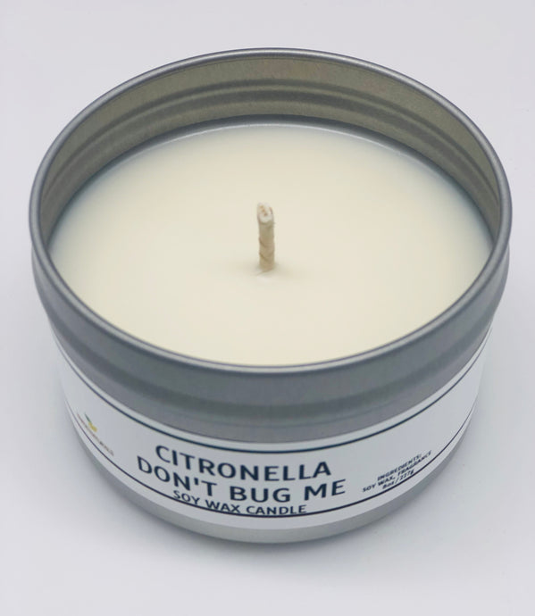 Don't Bug Me Citronella Candle