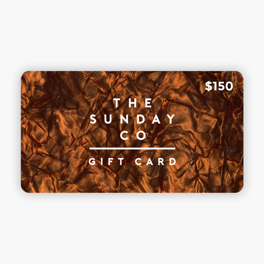 Gift Card - The Sunday Co.