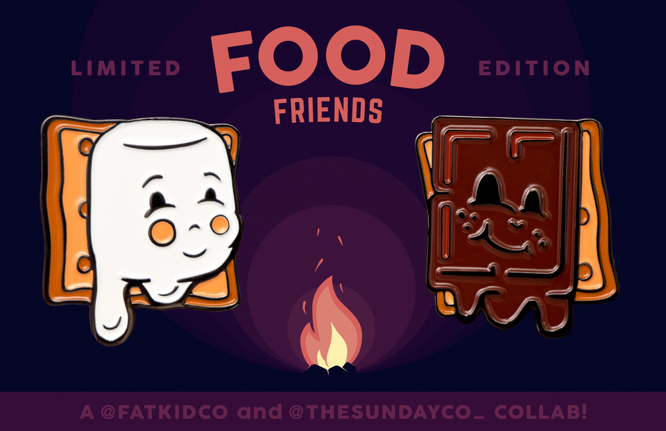 Food Friends x Smores - The Sunday Co.