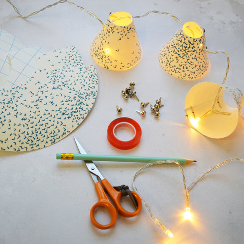 Mini Lampshade Fairy Light Workshop