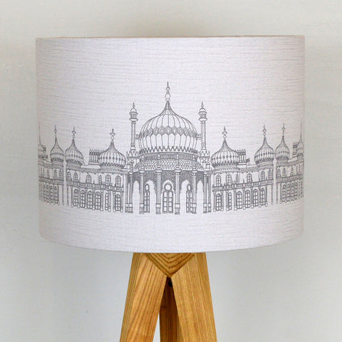 Pavilion Lampshade - Grey Linen