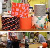 Fabric Drum Lampshade Workshop