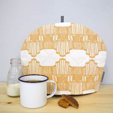 Ornamental Wave Tea Cosy