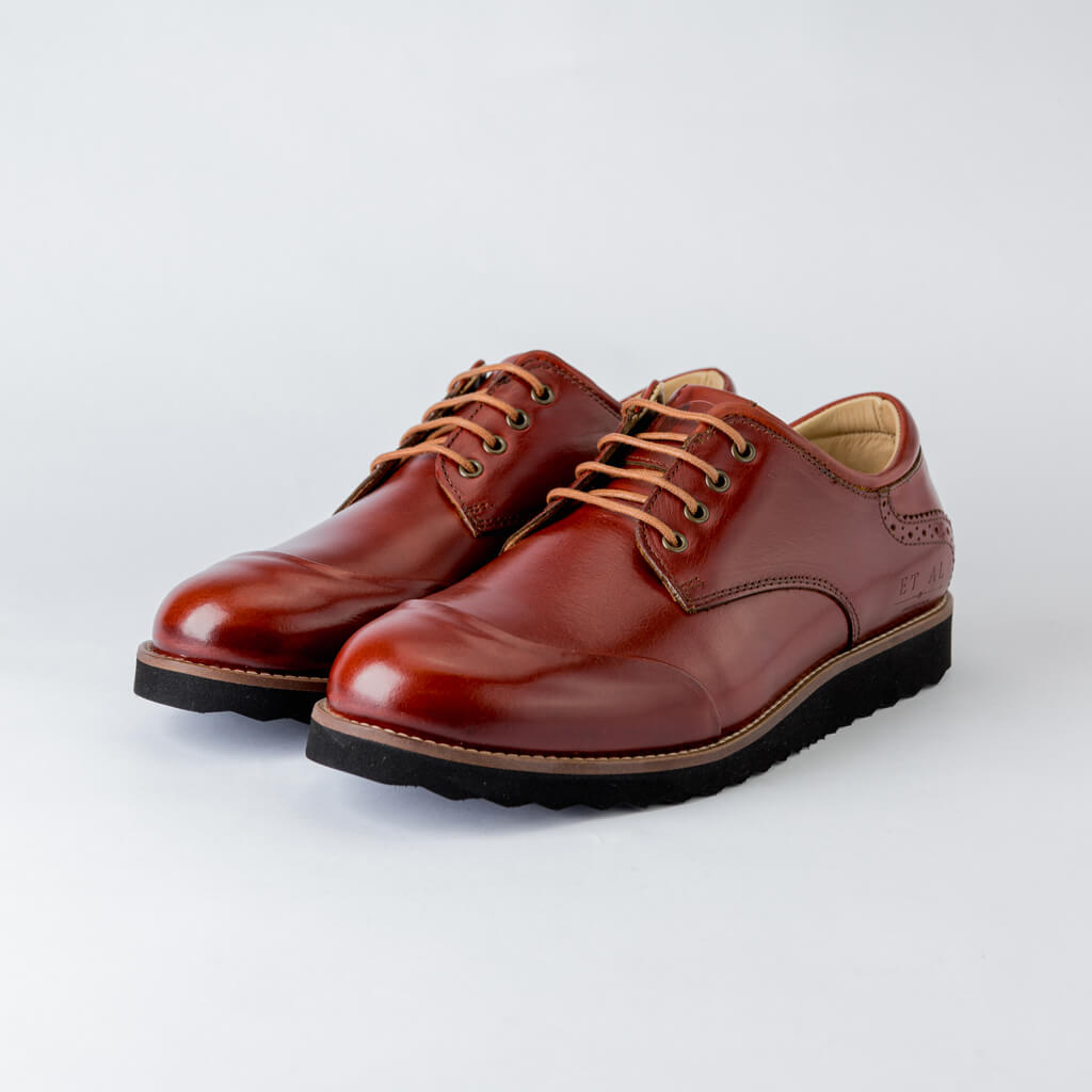 CAPTOE DERBY - Brown