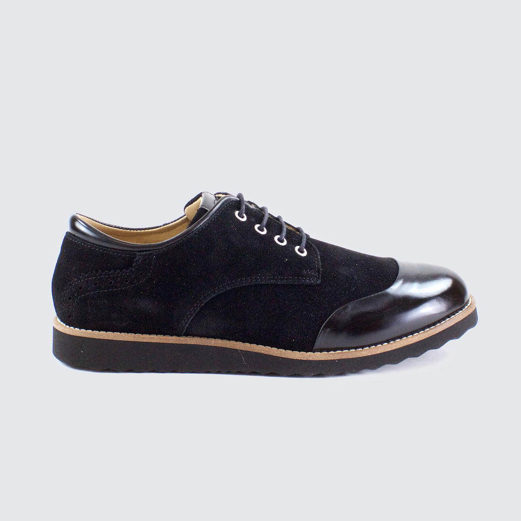 CAPTOE DERBY - Black/Black